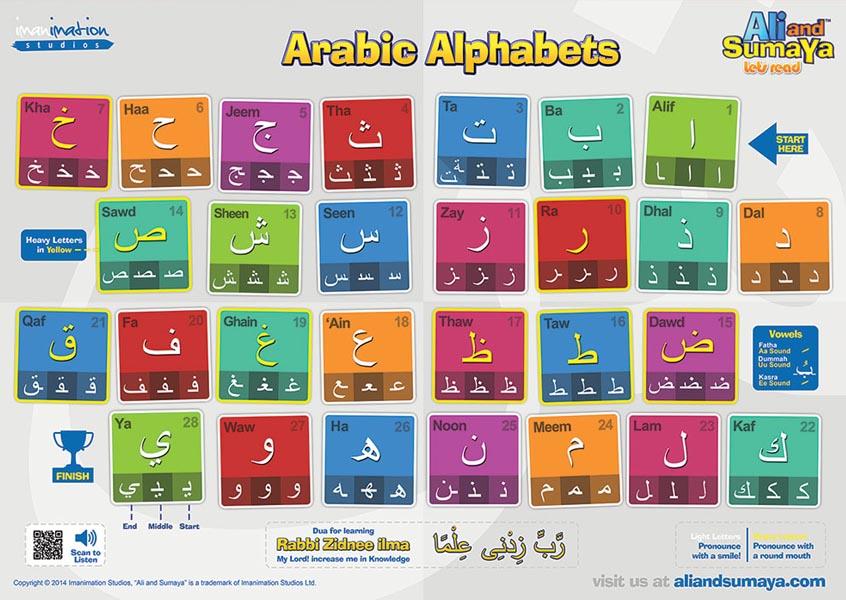 NEW Lets Read Arabic Alphabet Ali And Sumaya